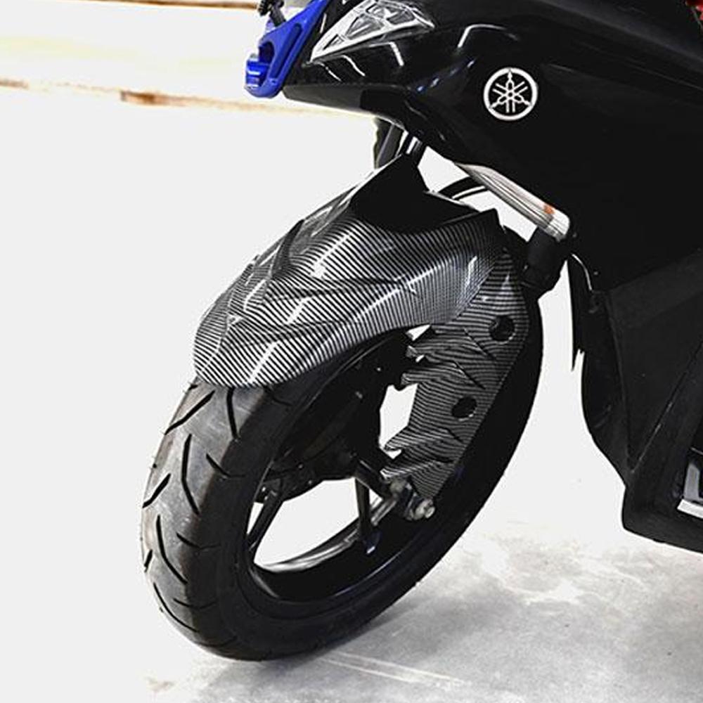 Bộ Dè Trước Xi Carbon Dành Cho Yamaha NVX 2017 - 2020 + Tặng 01 Móc Gắng Chìa Khóa Xe Ngẫu Nhiên