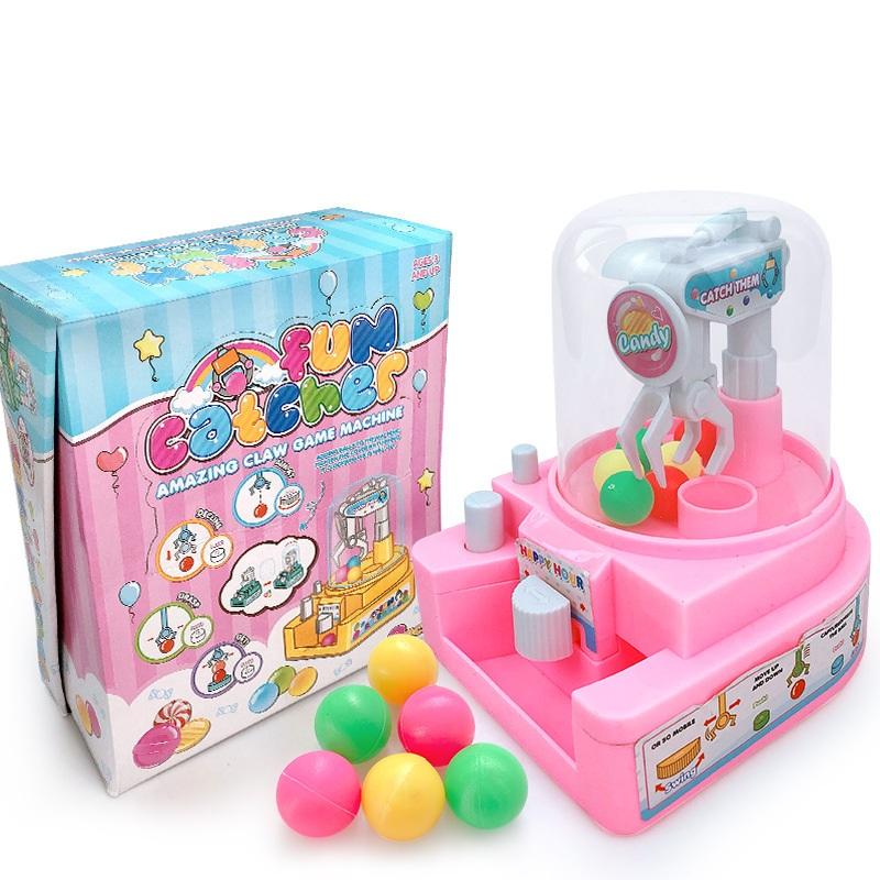 Đồ chơi Máy gắp kẹo mini cho bé Candy Crane, Máy gắp thú mini vui nhộn (giao màu ngẫu nhiên)