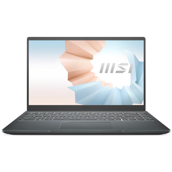 Laptop MSI Modern 14 B11SB-244VN (Core i5-1135G7/ 8GB DDR4 3200MHz/ 512GB PCIe NVMe/ MX450 2GB GDDR5/ 14 FHD IPS/ Win10) - Hàng Chính Hãng