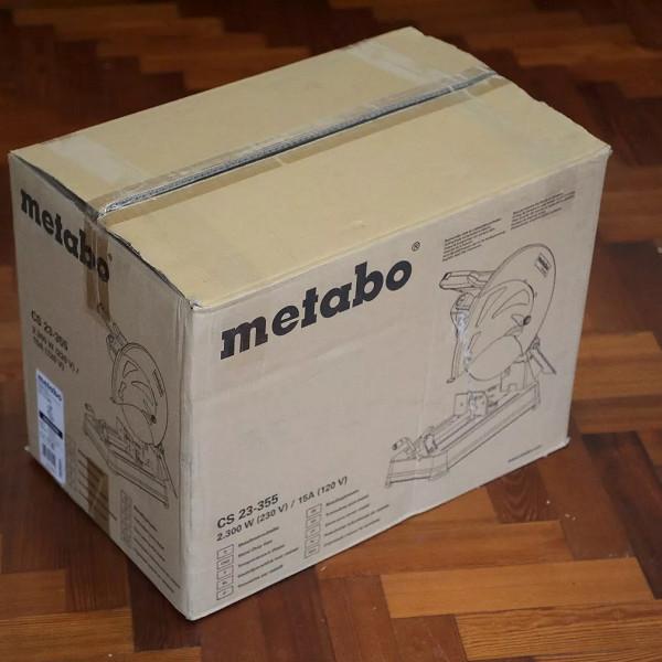 Máy cắt sắt Metabo