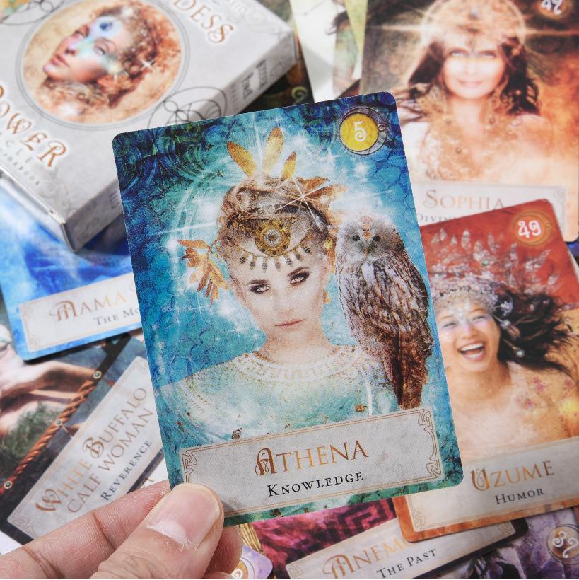 Bộ Bài Bói Tarot Goddess Power Oracle Cao Cấp