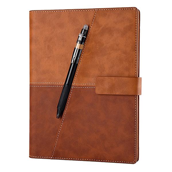 Sổ Ghi Chú Thông Minh Elfinbook X Leather A5 (Nâu) - Hàng Chính Hãng