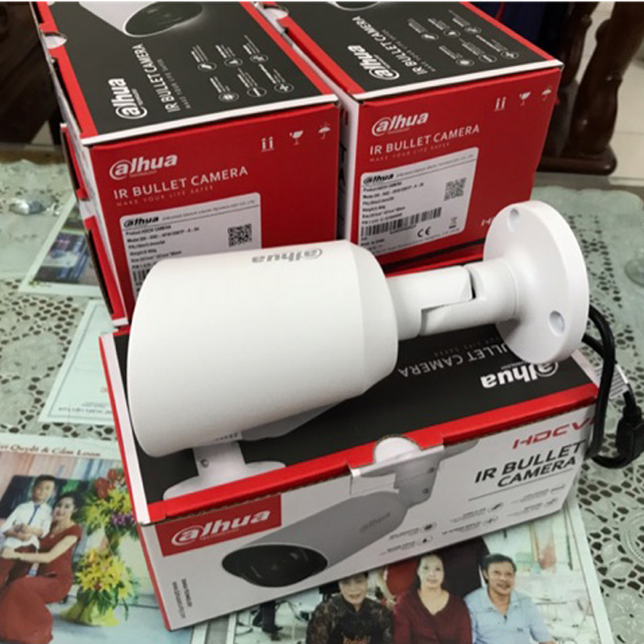 Camera thân HDCVI 5MP có mic DAHUA DH-HAC-HFW1500TP-A hàng chính hãng DSS Việt Nam