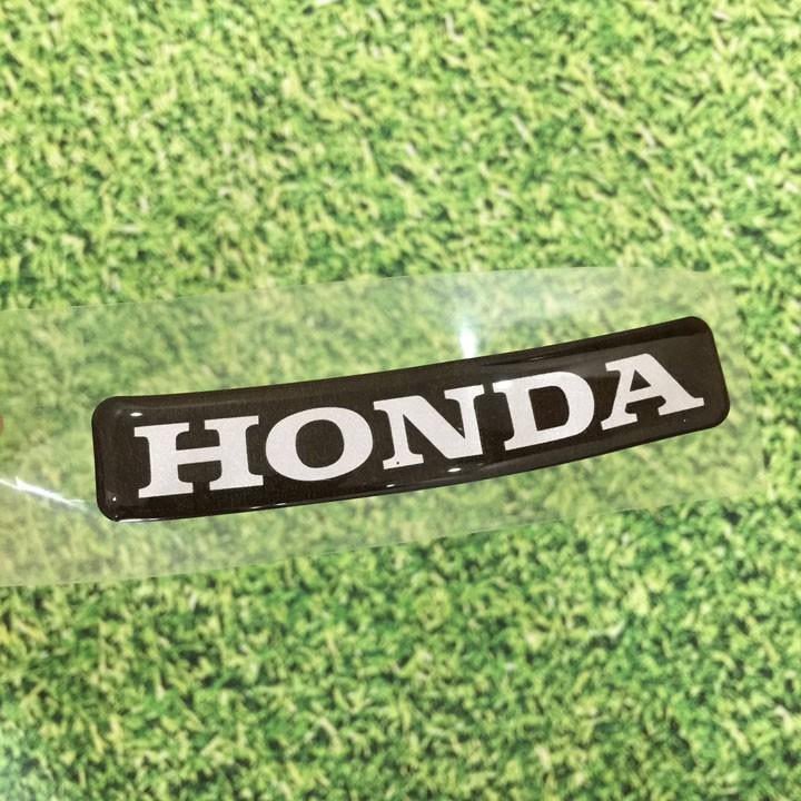 Tem nổi chữ HONDA gắn cho xe Wave các đời - A436