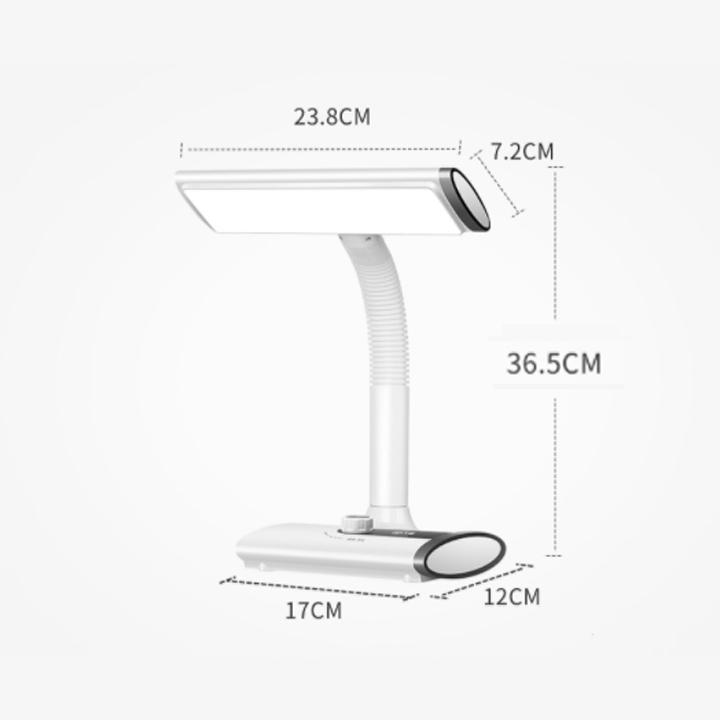 Đèn LED Chống Cận Để Bàn Không Dây, Tích Điện Thông Minh