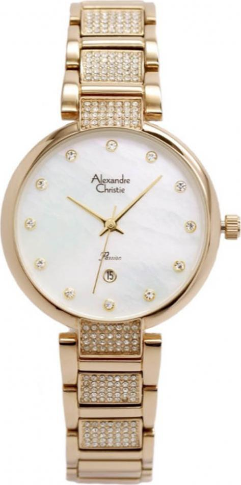 Đồng hồ đeo tay hiệu Alexandre Christie 2685LDBCGMS