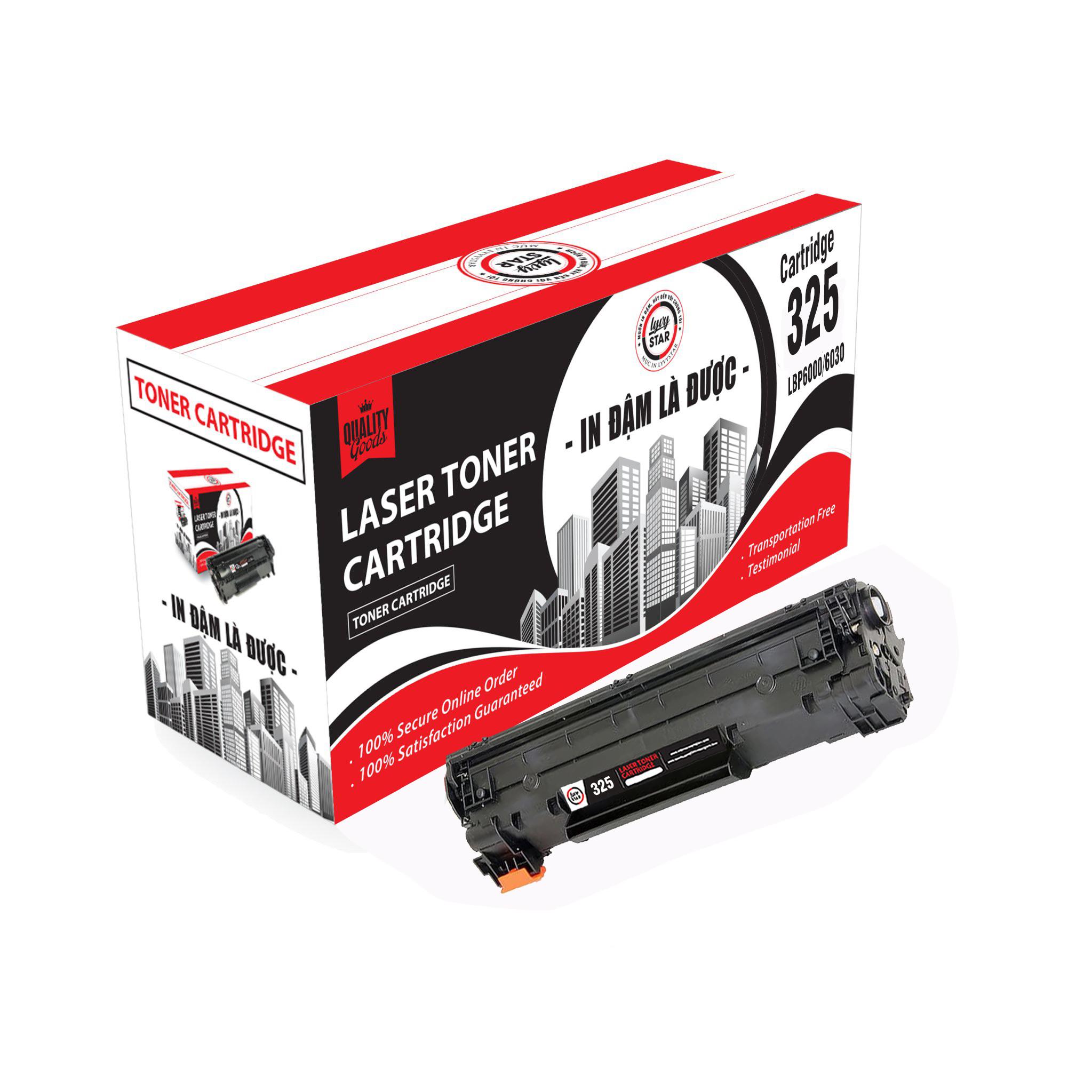 Hộp mực Lyvystar 325 sử dụng cho máy in Canon LBP 6018 - Hàng chính hãng