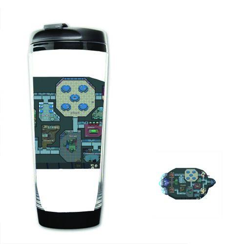 Bình nước nhựa tiện lợi IN HÌNH Among Us game mẫu mới