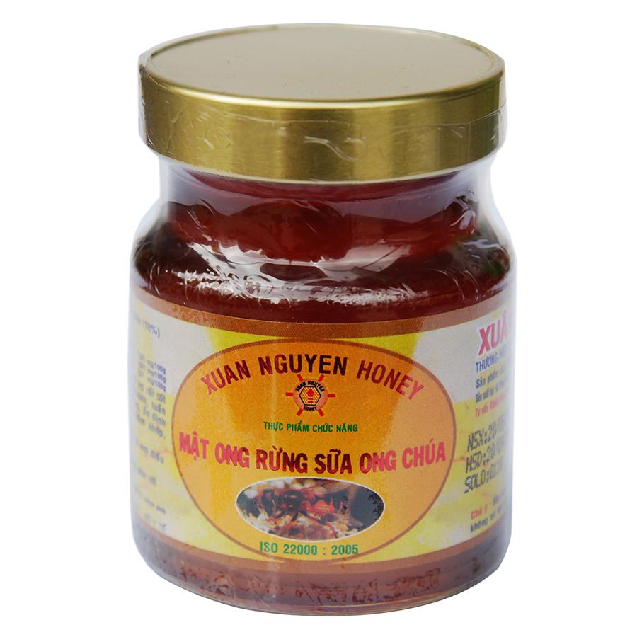 Mật Ong Rừng Sữa Ong Chúa  Xuân Nguyên 70 ml