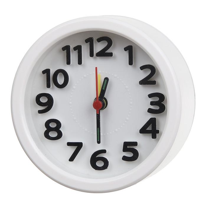 Đồng hồ báo thức để bàn hình tròn Basic
