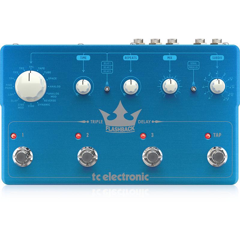TC Electronic Flashback Triple Delay Guitar Effects Pedal-Hàng Chính Hãng