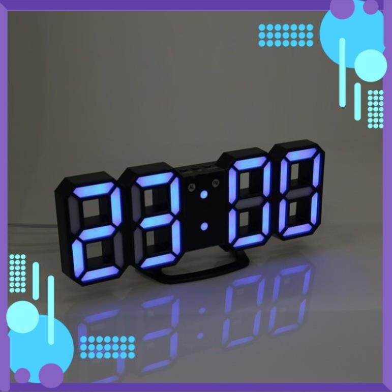 Đồng hồ để bàn - Đồng hồ led 3D