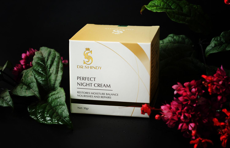 Kem Dưỡng Trắng Da Làm Mờ Nám Chống Lão Hóa Ban Đêm Dr.Shindy Perfect Night Cream