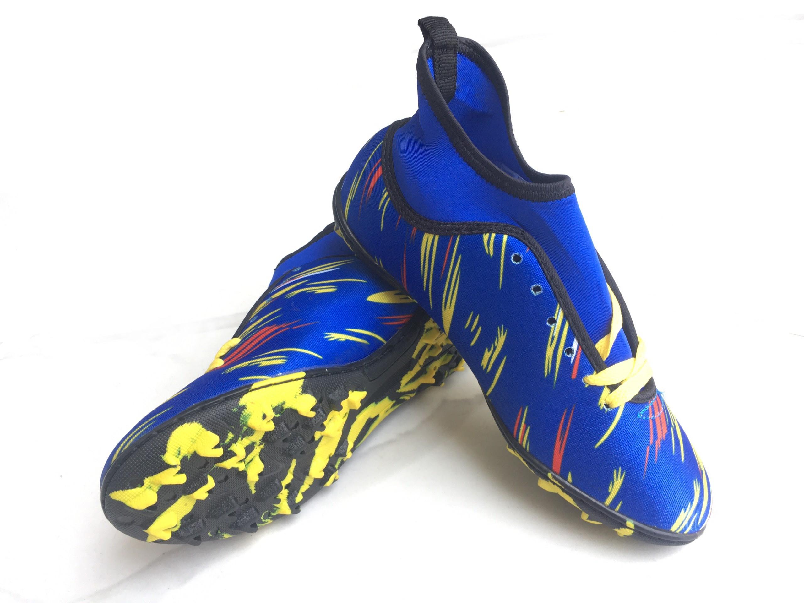 Giày Đá Bóng Cổ Thun Sân Cỏ Nhân Tạo Mẫu Mới 2021