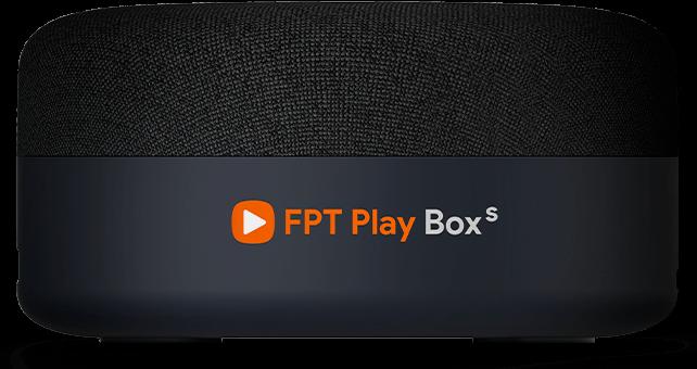 FPT Play Box S 2021 Chính hãng FPT Telecom (Mã T590) Kết hợp Tivi Box và Loa thông minh chính hãng. 1