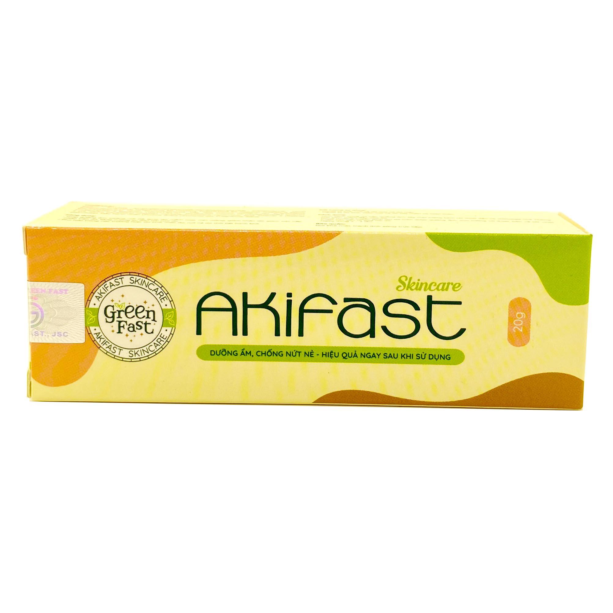 Kem dưỡng ẩm, chống nứt nẻ Akifast Skincare – nuôi dưỡng và làm mềm da, giảm khô nẻ do thời tiết
