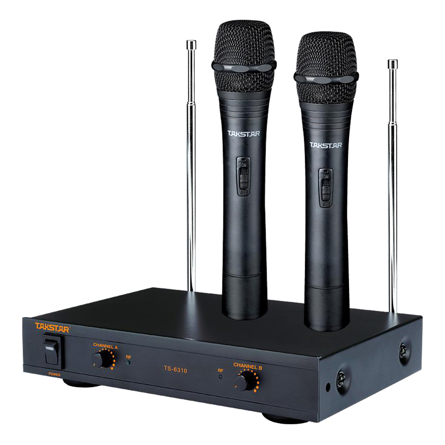 Micro Karaoke Không Dây Takstar TS-6310  - Hàng Chính Hãng