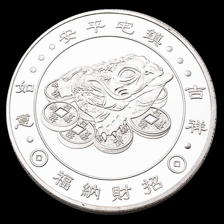 Combo 3 Xu in hình các ông Phước Lộc Thọ, dùng để cầu may mắn, tài lộc,  trang trí bàn sách, bàn làm việc, mang theo bên người - SP002468