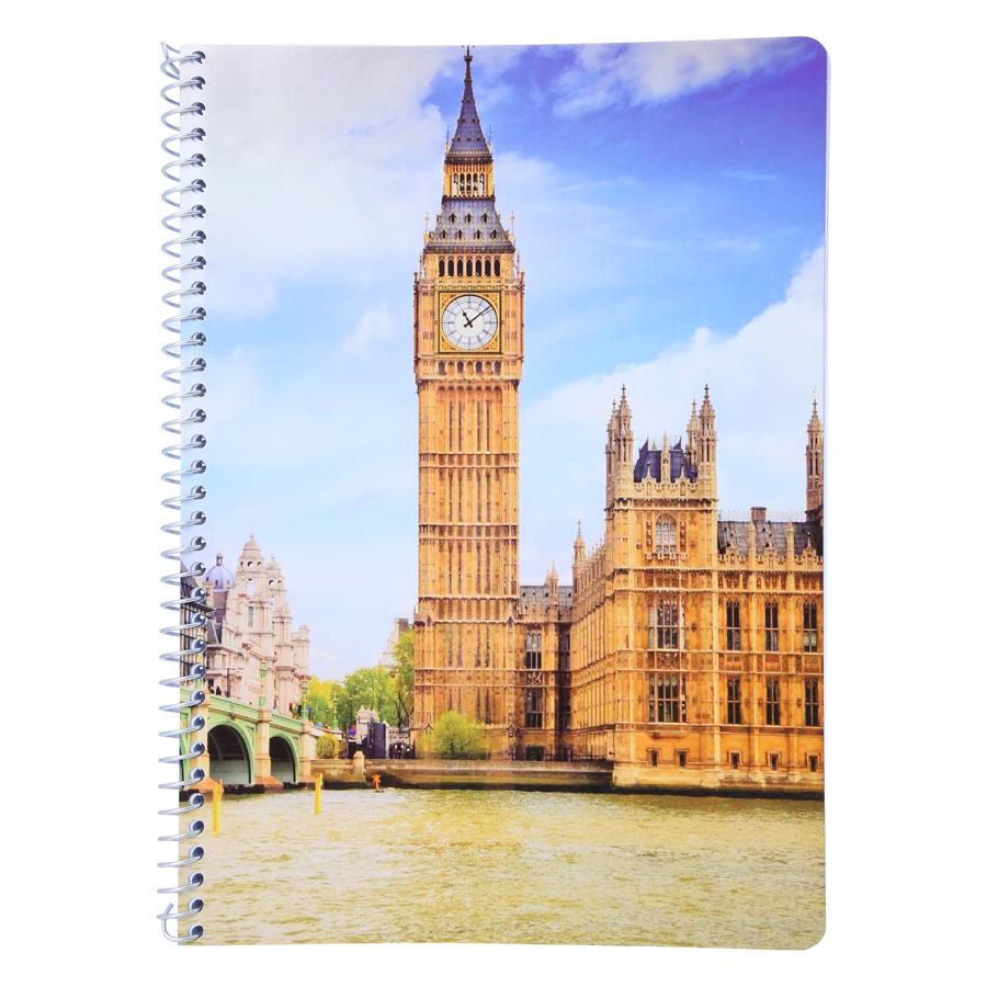 Sổ Lò Xo Devyt A4 200 Trang Đl70/92 - London