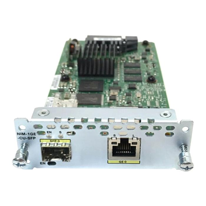 Card Mạng Cisco NIM-1GE-CU-SFP - Hàng Nhập Khẩu