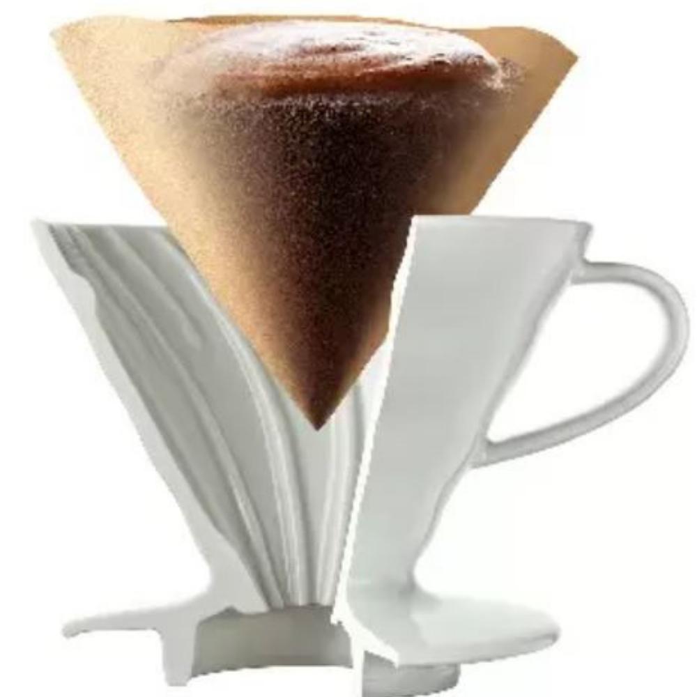 Giấy lọc cà phê Hario 100 cái V60-VCF-02-100M (Size 1, Màu tự nhiên)