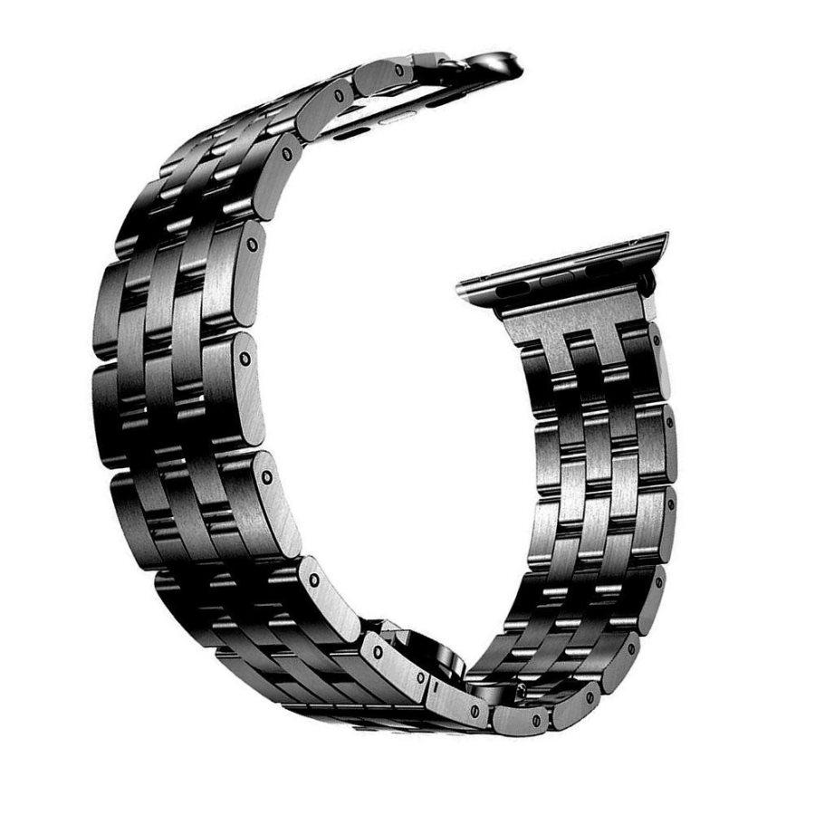 Dây đồng hồ Apple Watch 44mm/42mm thép không gỉ mắt xích dọc