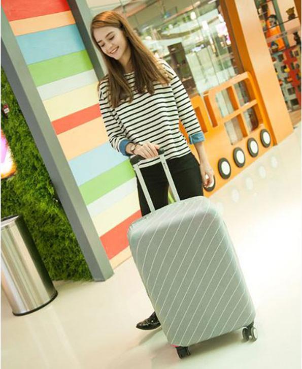 Túi Bọc Bảo Vệ Vali Size Co Giãn 4 Chiều Từ 21 - 25 Inches Sọc