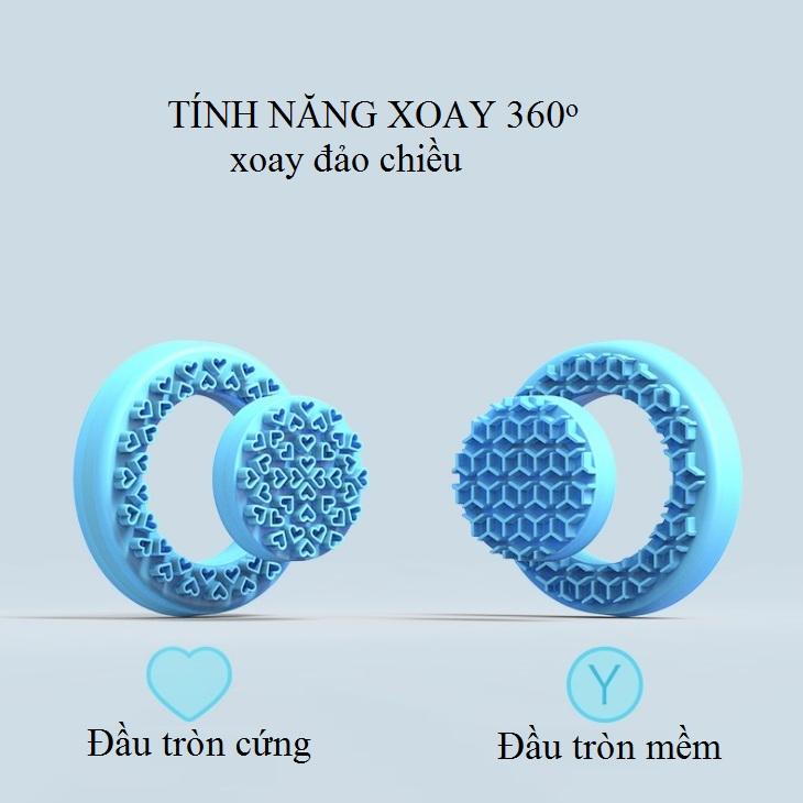 Máy rửa mặt công nghệ rung làm sạch mặt