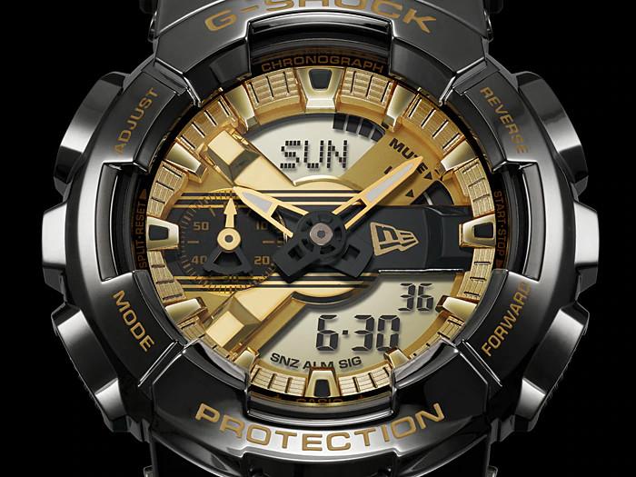 Đồng hồ nam Casio G-Shock GM-110NE-1ADR New Era phiên bản kỷ niệm 100 năm   GM-110NE-1A Limited Edition