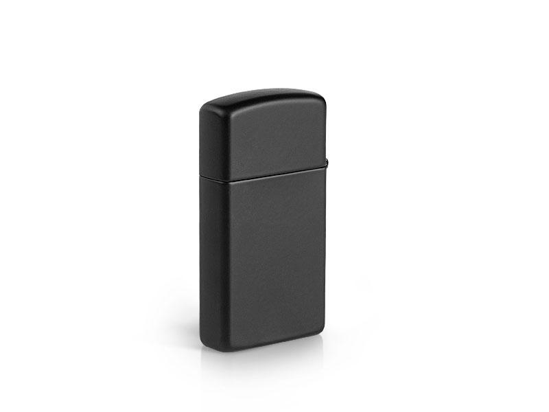Bật Lửa Zippo Black Matte Slim 1618