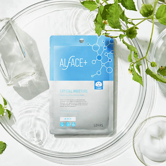 Mặt Nạ Dưỡng Da Nhật Bản Alface Aqua Moisture Sheet Mask Crystal Moisture,  Dành Cho Da Khô Và Da Tối Màu, Với 17 Loại Axit Amin Cấp Ẩm, Vitamin B, C,  E Giúp Da Sáng Bóng, Trong Suốt | Tiki