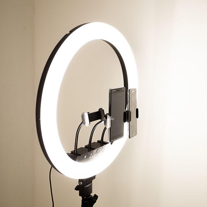 Đèn LED Livestresm 45 IN 3 Chế Độ Ánh Sáng Hỗ Trợ Make Up,Bán Hàng,Chụp Ảnh