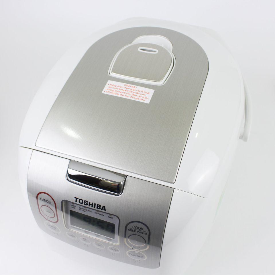 Nồi Cơm Điện Tử Toshiba RC-10NMFVN (WT) (1 Lít) - Hàng Chính Hãng