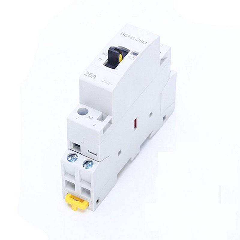 Khởi Động Từ Contactor Hỗ Trợ Công Tắc Tay 25A BCH8-25M