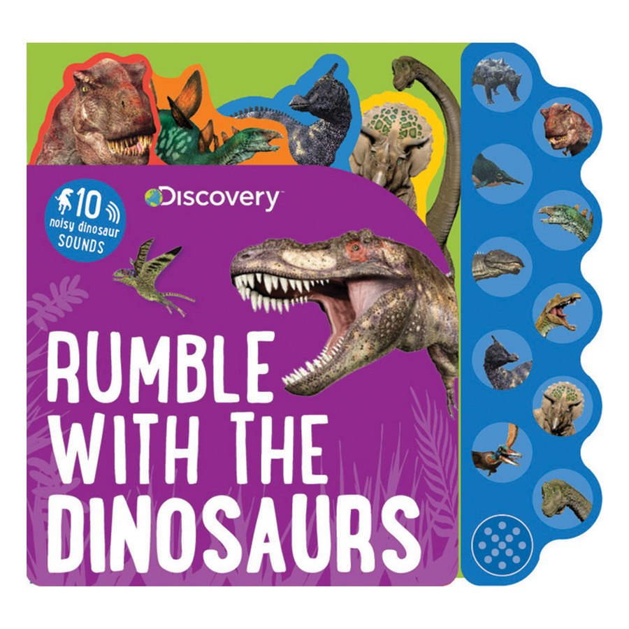 Discovery Rumble With The Dinosaurs (Sound Book)