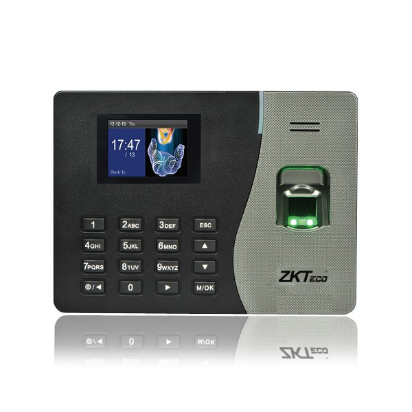Máy chấm công vân tay, thẻ ZKTeco K14 - Hàng nhập khẩu