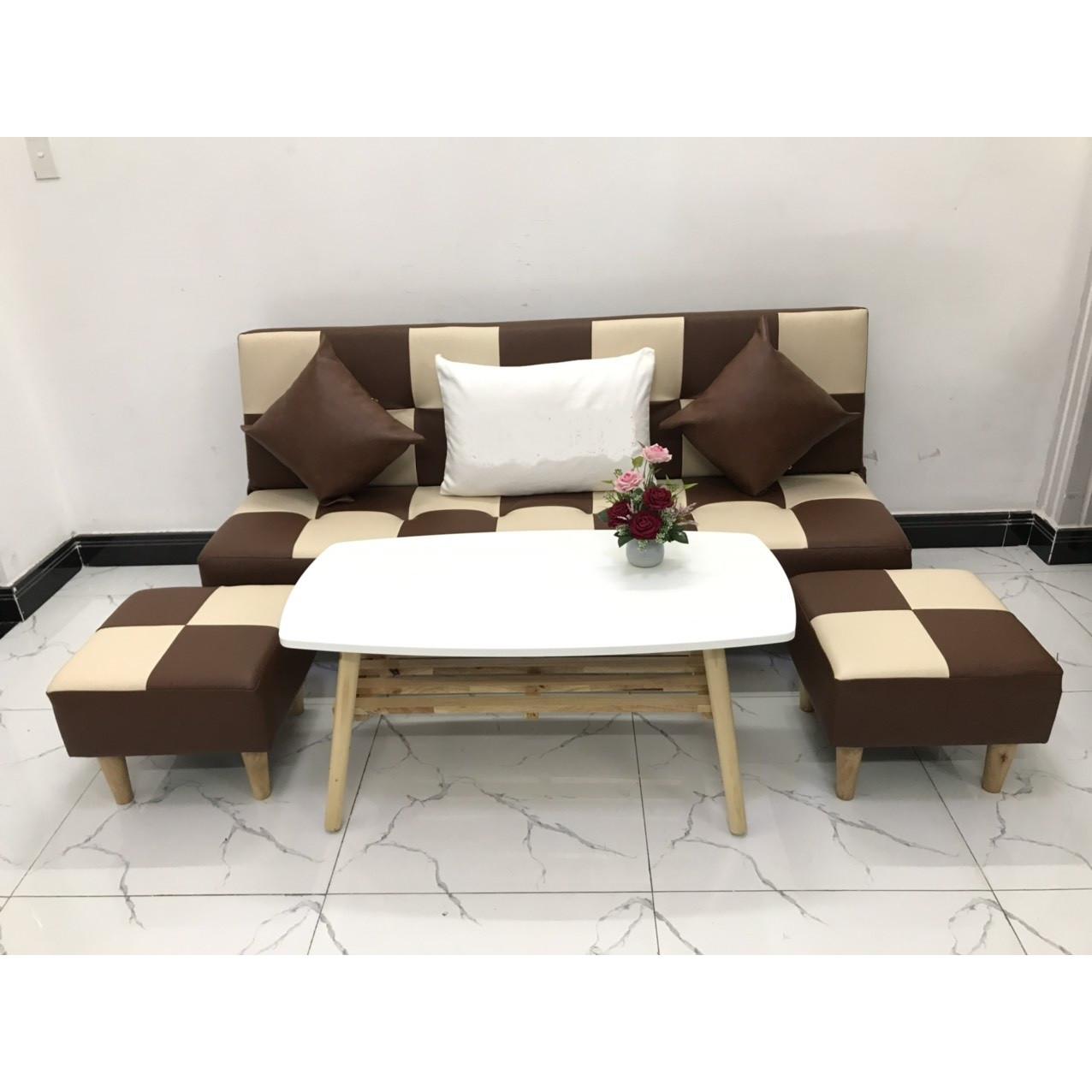Bộ ghế sofa giường 1m7x90 sofa bed phòng khách linco19