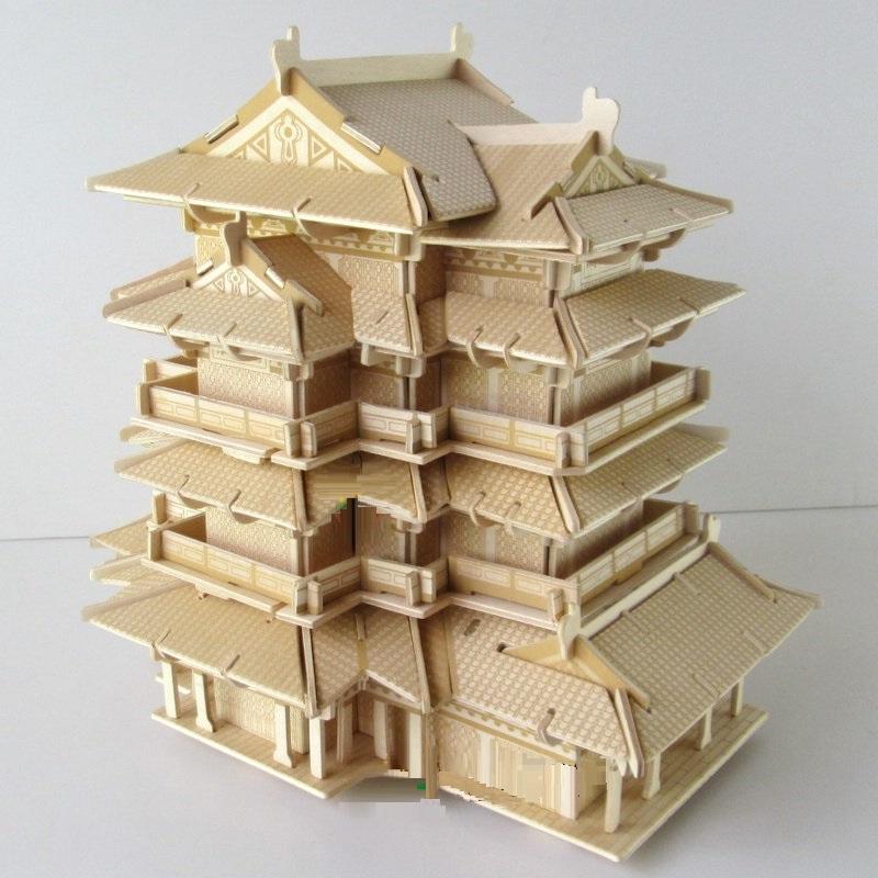 Đồ chơi lắp ráp gỗ 3D Mô hình Đằng Vương Các