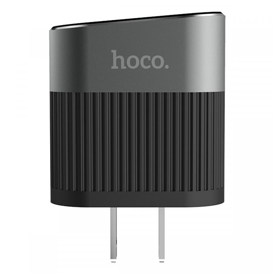 Củ Sạc Hoco C40 - 2 Cổng USB - Hàng Chính Hãng