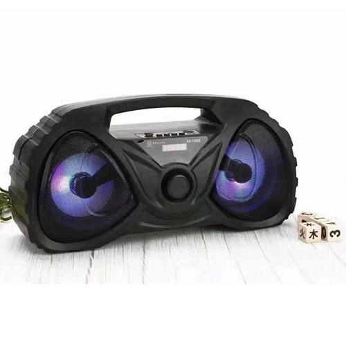 Loa bluetooth karaoke Di động xách Tay FJ-526DW Kèm Mic - Nghe hay, chất lượng (giao màu ngẫu nhiên)