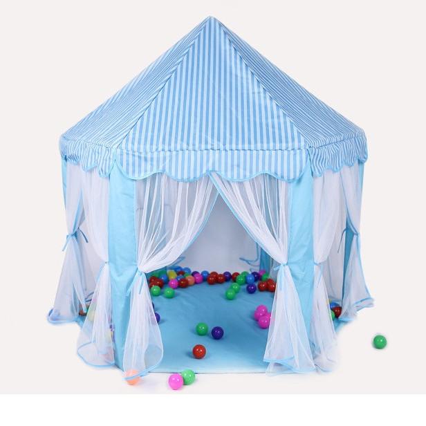 Lều màn hoàng tử cho bé trai - xanh