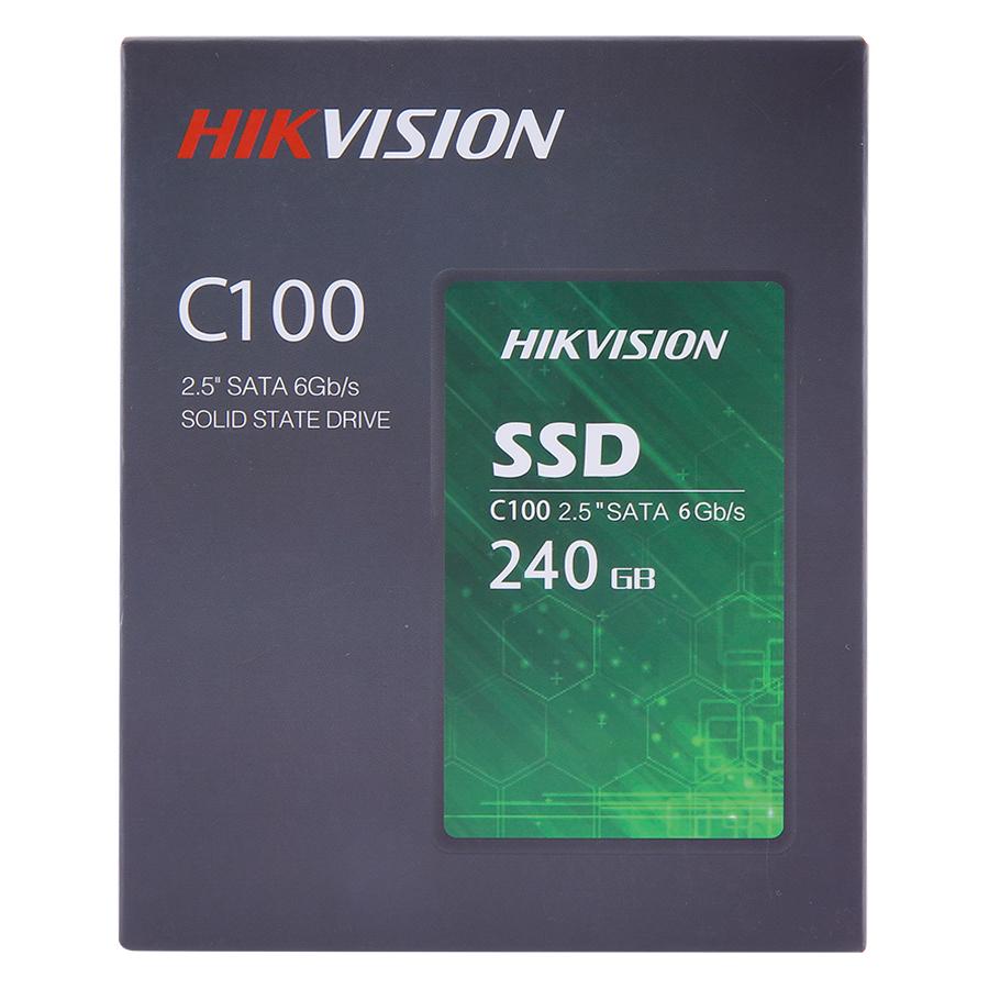 Ổ Cứng SSD HIKVISION C100 240GB Sata III - Hàng Chính Hãng