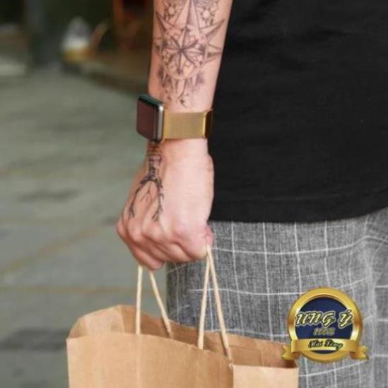 Dây đeo Thép Chống Gỉ cho Apple Watch 1/2/3/4/5 ( Milanese Loops)