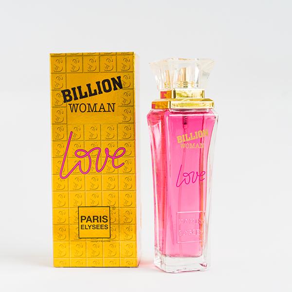 Nước Hoa Nữ Paris Elysees Billion Woman Love (100ml)