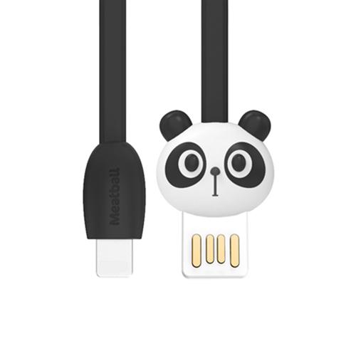 Dây Cáp Sạc Pisen Meatball Lightning Cho iPhone 1.2m (Chống Đứt, Chống Rối, 2.4A) - Hàng Chính Hãng