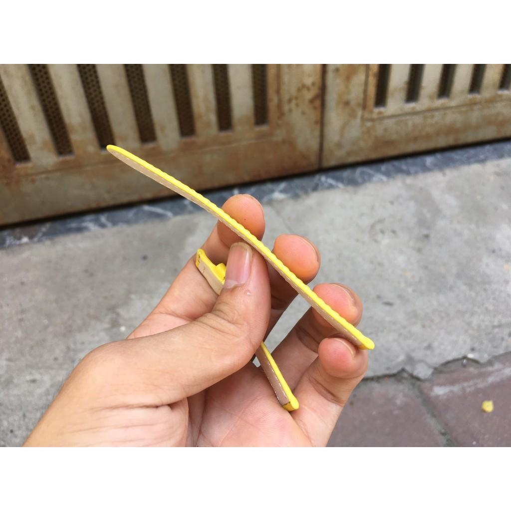 Dây Đồng Hồ Da Bò Màu Vàng Cho Nữ DOHA Đủ Size