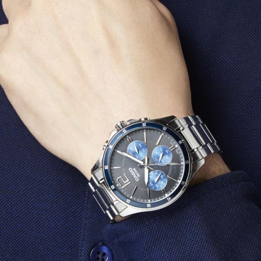 Đồng hồ nam dây kim loại Casio MTP-1374D-2AVDF