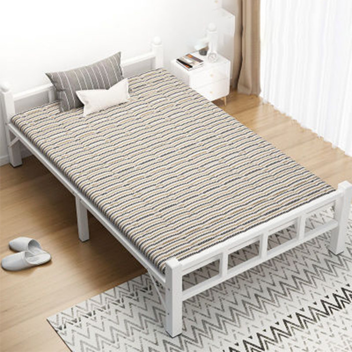 Giường gấp khung sắt kèm đệm - giường ngủ gấp gọn GUT006-7