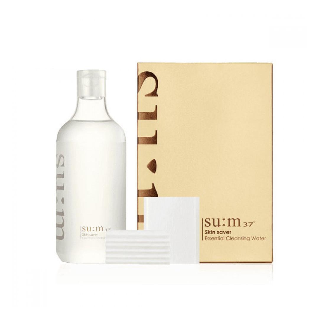 Tẩy Trang Dạng Nước 3 Trong 1 Sum37 Skin Saver Essential Pure Cleansing Water 400ml