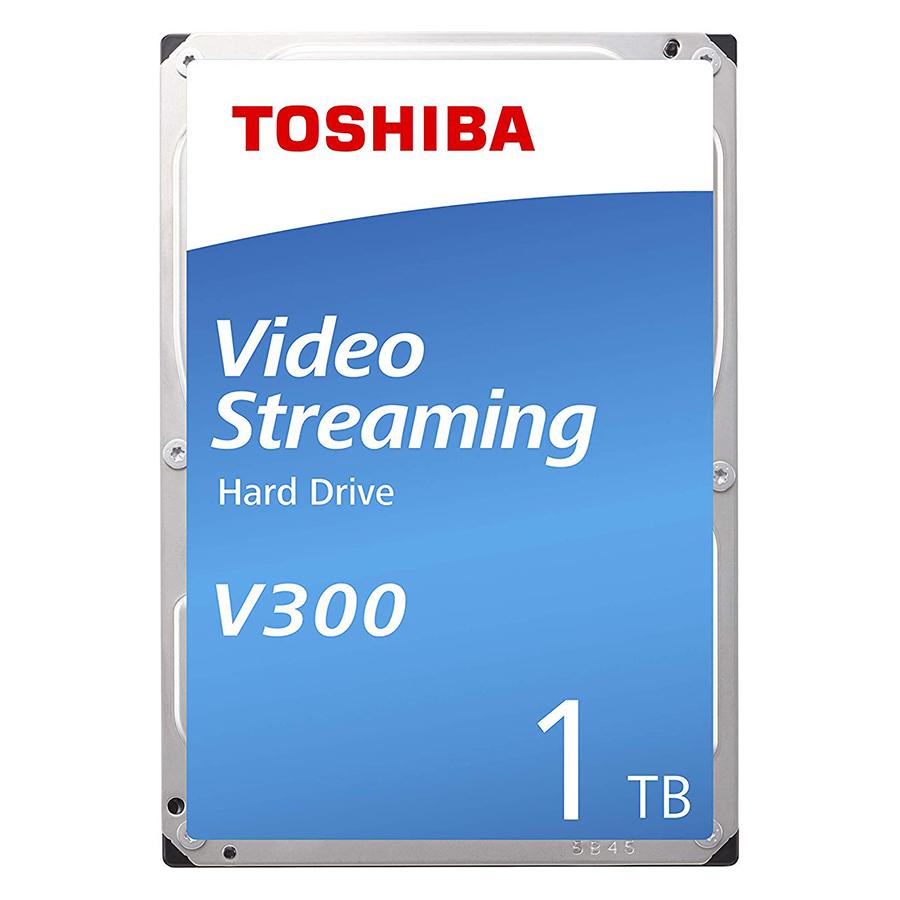 """Ổ Cứng HDD Toshiba 3.5"""" 1TB VideoStream V300 series (64MB) 5700rpm SATA3 (6Gb/s) HDWU110UZSVA - Hàng Chính Hãng"""